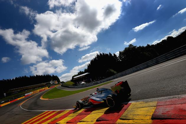 Formula 1: Belgian Grand Prix Predictions
