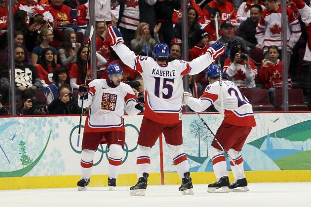 Czech Republic Olympic Hockey Team 2014: Projecting 25-Man Roster for Sochi