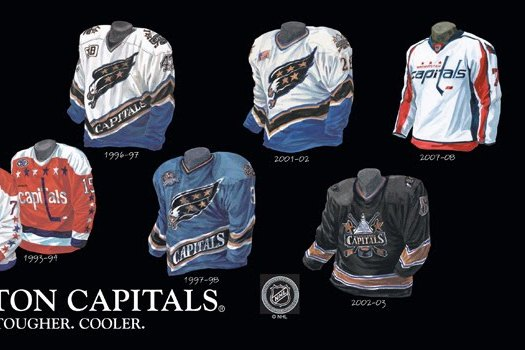 The 5 Best Uniforms in Washington Capitals History