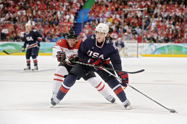 Team USA's Top Storylines as Olympic Hockey Camp Opens