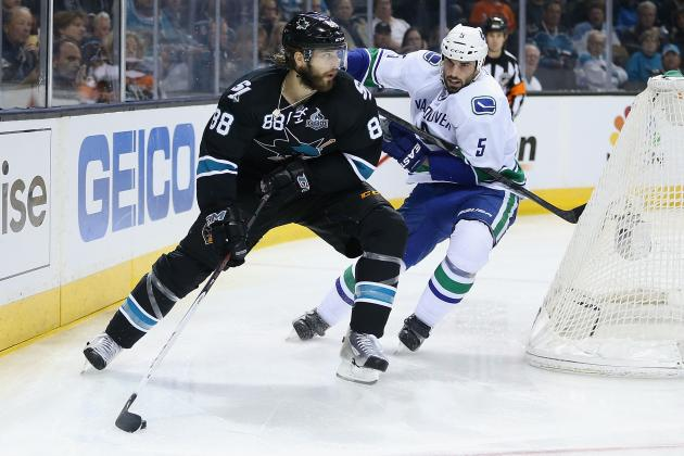 Best Attribute of Each 2013-14 San Jose Sharks Star