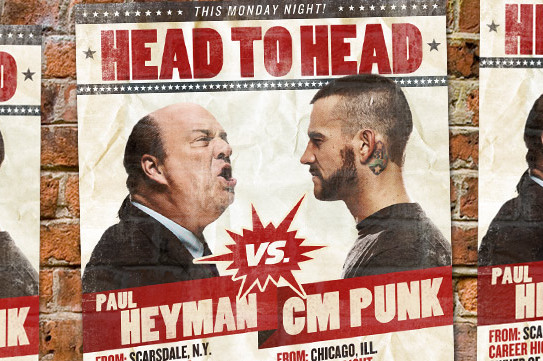 CM Punk vs. Paul Heyman and 7 Best Feuds of 2013 so Far