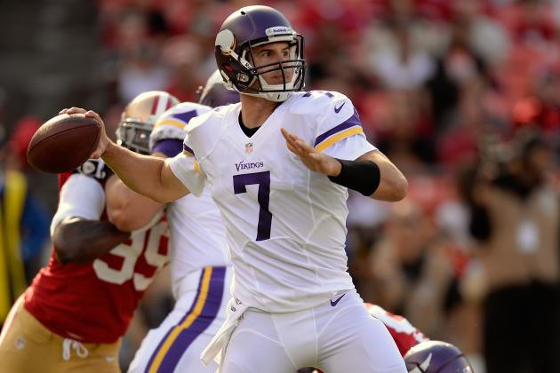 Minnesota Vikings 2013 Team Roster: Report Card Grades for Every Position