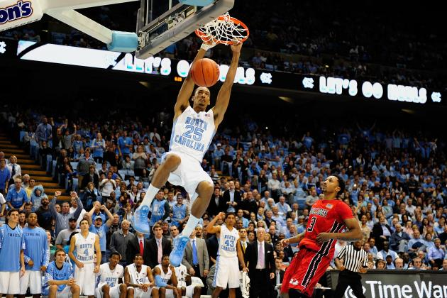 North Carolina Basketball: Predicting Tar Heels' Best Dunkers for 2013-14 Season