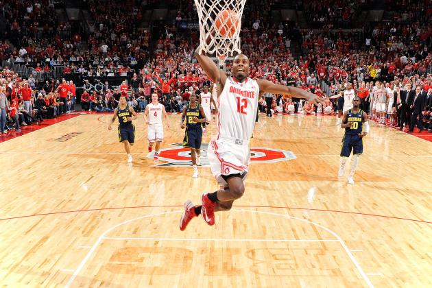 Ohio State Basketball: Predicting Buckeyes' Best Dunkers for 2013-14 Season