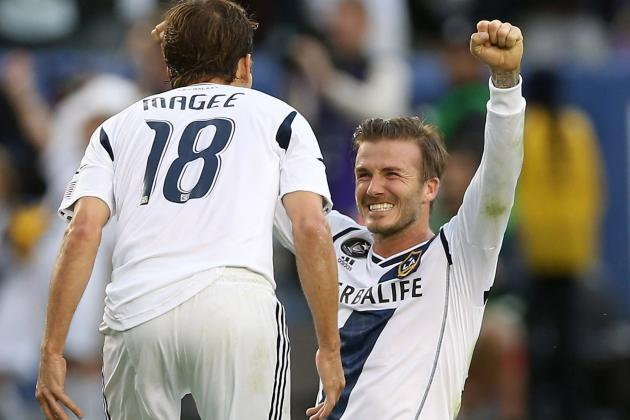 David Beckham's 5 Best Goals in MLS