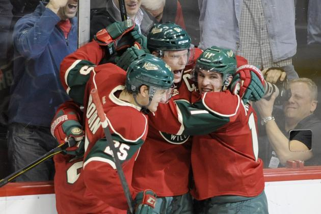 The Biggest Question Mark on Each Minnesota Wild Line for 2013-14 Season