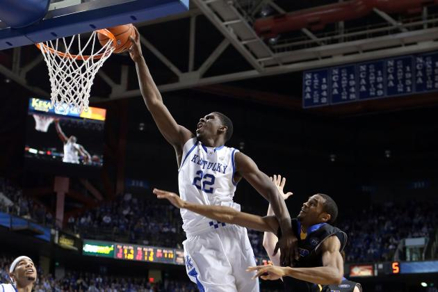 Kentucky Basketball: Predicting Wildcats' Best Dunkers for 2013-14 Season