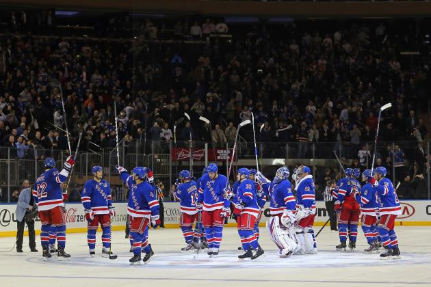 The Biggest Question Mark on Each New York Rangers' Line for 2013-14 Season