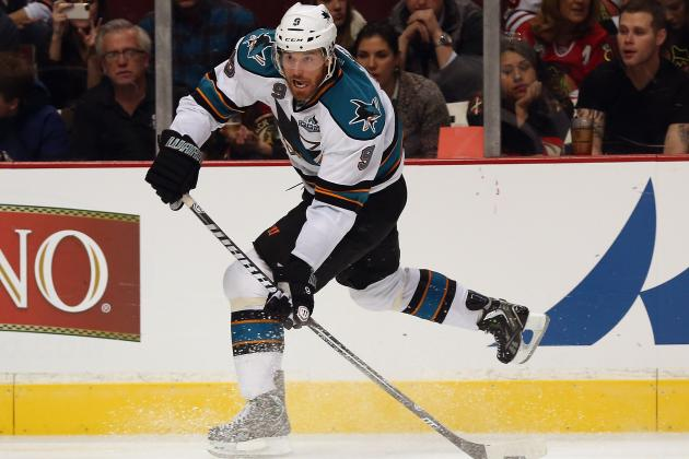 Biggest Question Mark on Each Line for 2013-14 San Jose Sharks