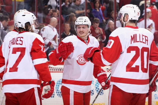 Pros and Cons of Each Detroit Red Wing Fighting for a Roster Spot