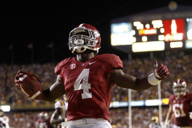 T.J. Yeldon: Heisman Odds and Season Outlook for Alabama's Star RB