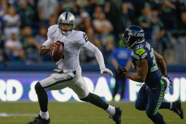 Terrelle Pryor Unable to End Raiders' Quarterback Controversy