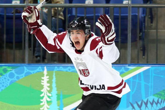 Latvia Olympic Hockey Team 2014: Projecting 25-Man Roster for Sochi Games