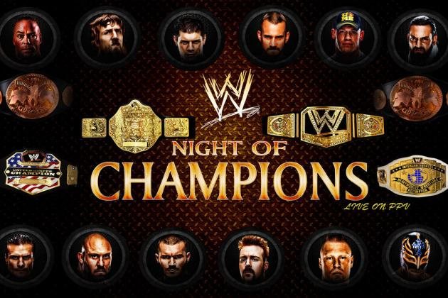 WWE Night of Champions 2013: Matches That Would Make PPV a Must-See