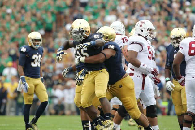 10 Things We Learned About the Irish's Win Against Temple