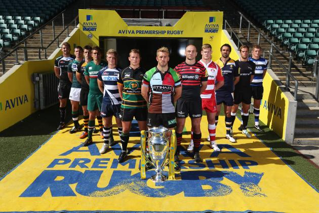 Aviva Premiership: Club-by-Club Guide to the 2013-14 Season