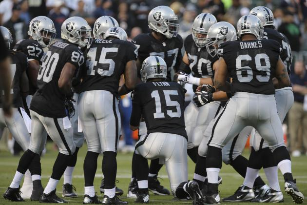 Oakland Raiders 2013 Team Roster: Report Card Grades for Every Position