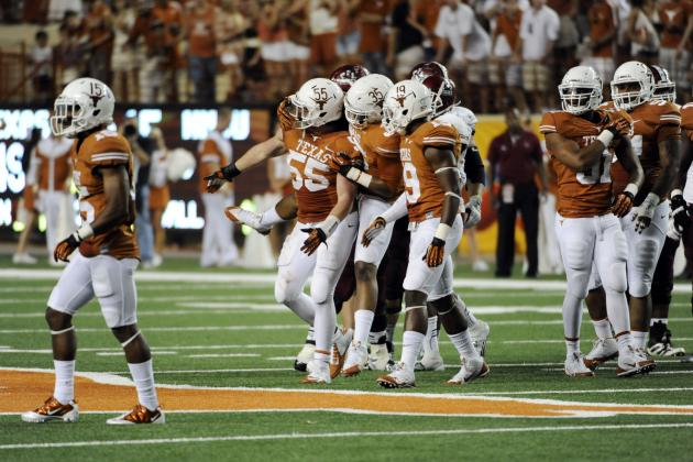 Texas Football: Grading Every New Starter's Week 1 Performance