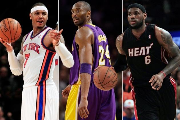 Top 5 Pairings for Kobe Bryant Via 2014 Free Agency Class