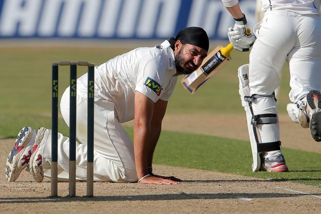 Monty Panesar: World Cricket's Clown of the Month, August 2013