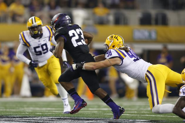 LSU Football: Grading Every New Starter's Week 1 Performance