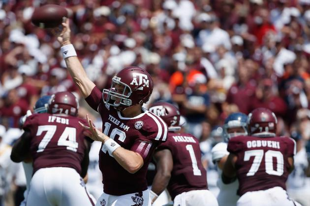 Texas A&M Football: Grading Every New Starter's Week 1 Performance