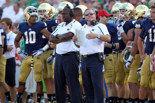 Notre Dame Football: Grading Every New Starter's Week 1 Performance