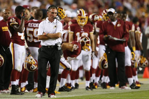 Full Week 1 Stat Predictions for Washington Redskins' Offense