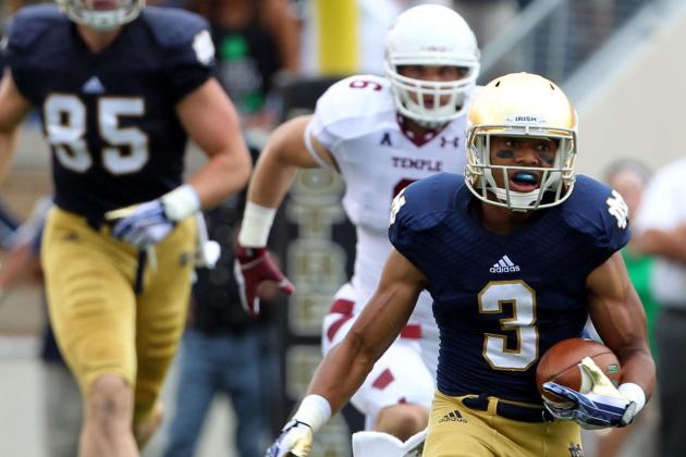 Notre Dame vs. Michigan: 3 Best Ways for Irish to Use Amir Carlisle