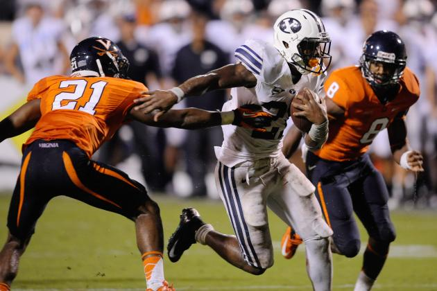 BYU Football: 5 Lessons Learned from Week 1's Loss to Virginia
