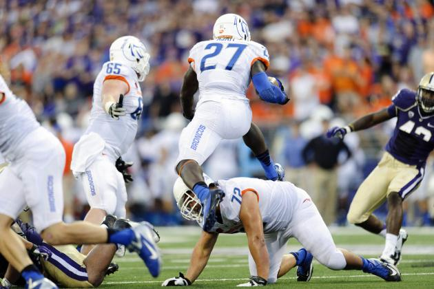 Boise State Football: Grading Every New Starter's Week 1 Performance