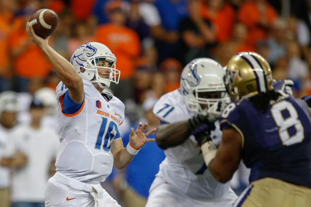 Boise State Football: Grading Joe Southwick's Performance Against Washington