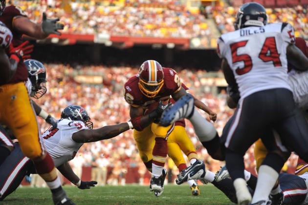 5 Most Impressive Week One Performances in Washington Redskins History