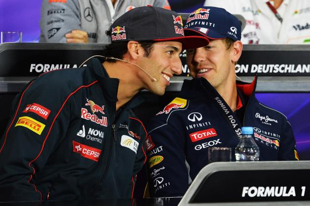 5 Things Daniel Ricciardo and Sebastian Vettel Must Learn About Each Other