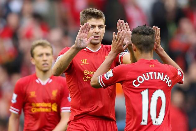 6 Things Steven Gerrard Will Teach Philippe Coutinho at Liverpool