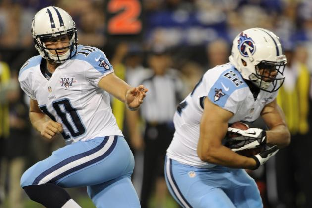Full Week 1 Stat Predictions for Tennessee Titans Offense