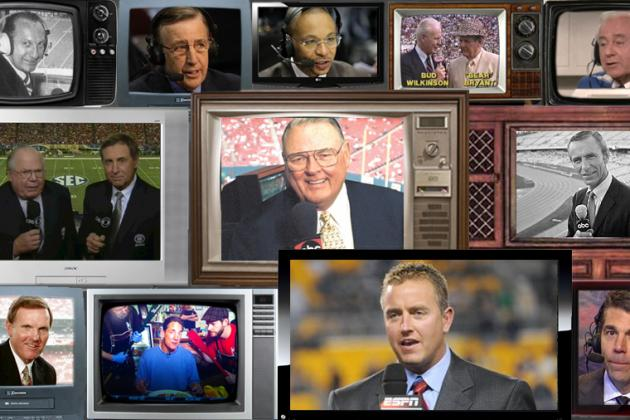 The 25 Greatest TV College Football Announcers of All Time