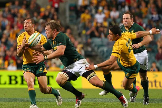 Ranking the 5 Best Tries in Australia vs. South Africa Matches