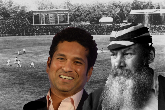 Sachin Tendulkar: 7 Overlapping Steps from Today to First Test in 1877