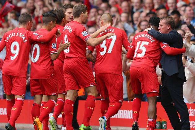 Ranking Liverpool's Top 5 Players During Opening Weeks of 2013/14 Season