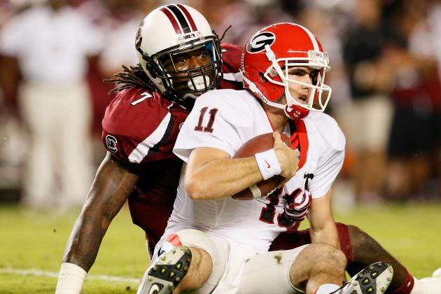 College Football Week 2 Picks: South Carolina Gamecocks vs. Georgia Bulldogs