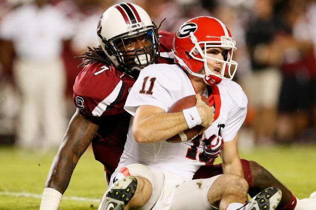 College Football Week 2 Picks: South Carolina Gamecocks vs. Georgia Bulldogs