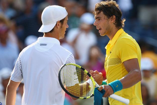 US Open Tennis 2013 Men's Semifinals: Nadal vs. Gasquet Preview and Prediction