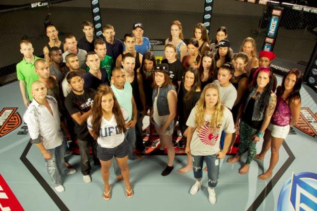 The Ultimate Fighter 18: Previewing All 8 Female Fighters Who Made the Show