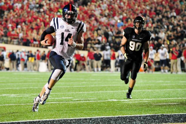 Ole Miss Rebel Football: Week 1 Position Grades