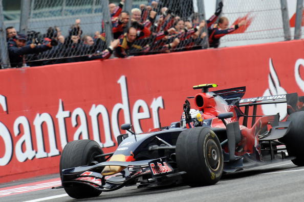 Top 5 Drives at the Italian Grand Prix at Monza