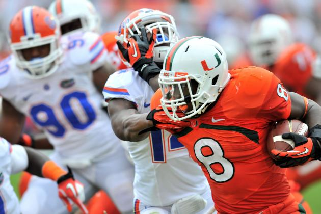 Florida vs. Miami: 10 Things We Learned in the Gators' Loss