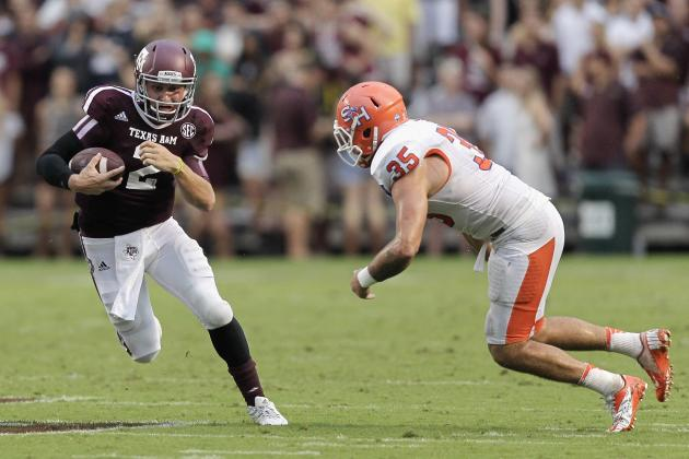 Sam Houston State vs. Texas A&M: 10 Things We Learned in the Aggies' Win