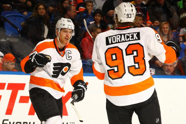 Philadelphia Flyers That Have the Best on-Ice Chemistry
